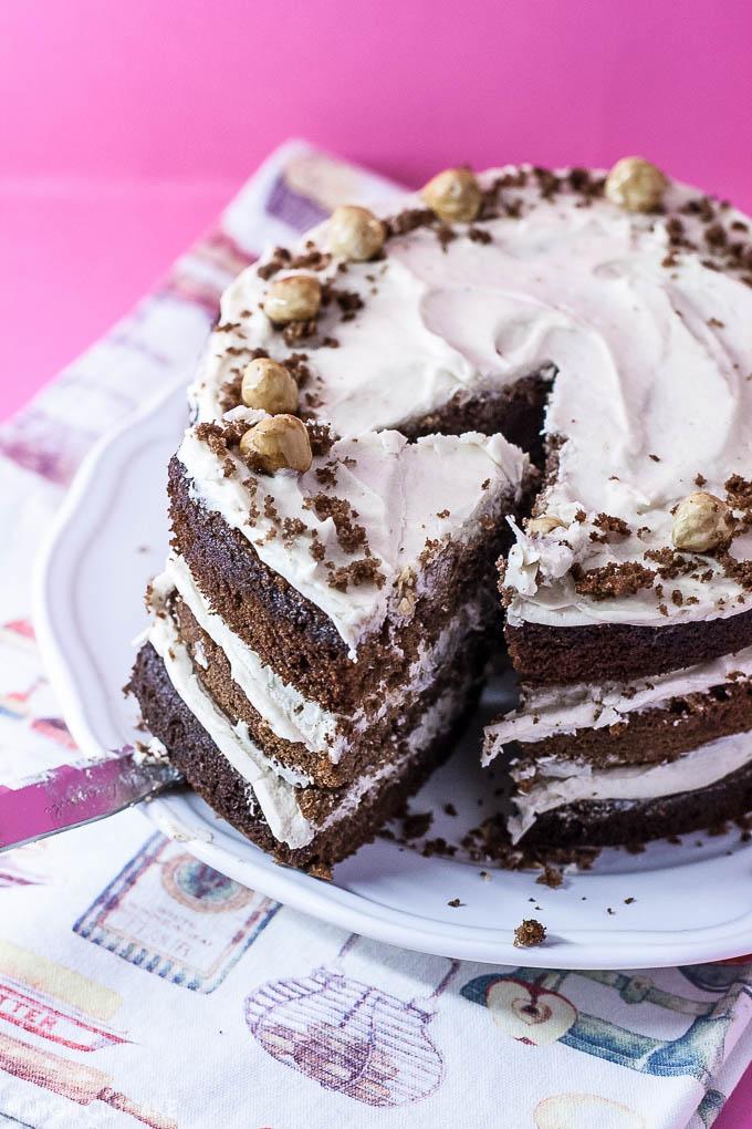Chocolate Chestnut Layer Cake - 6