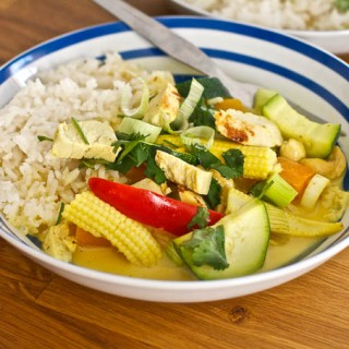 10 Minute Thai Turkey Curry (Bernard Matthews)