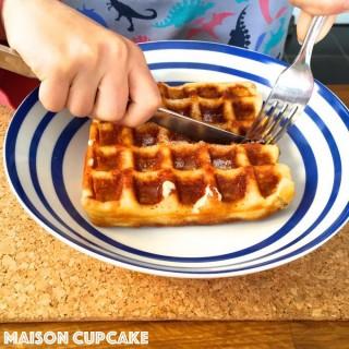 Gluten free waffles using Belgian Waffle Maker