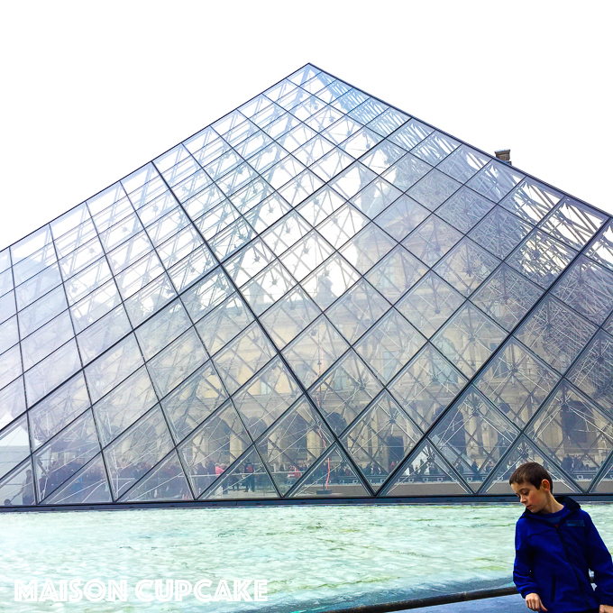 The Louvre Pyramid: 21 things to do in paris with kids