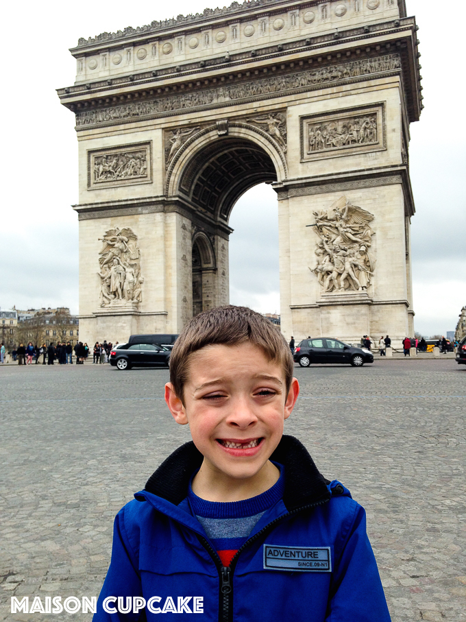 Arc du Triomphe: 21 things to do in paris with kids