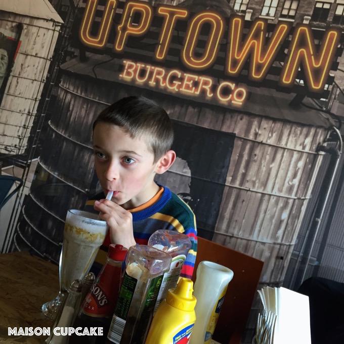 Uptown Burger Restaurant Leyton East London