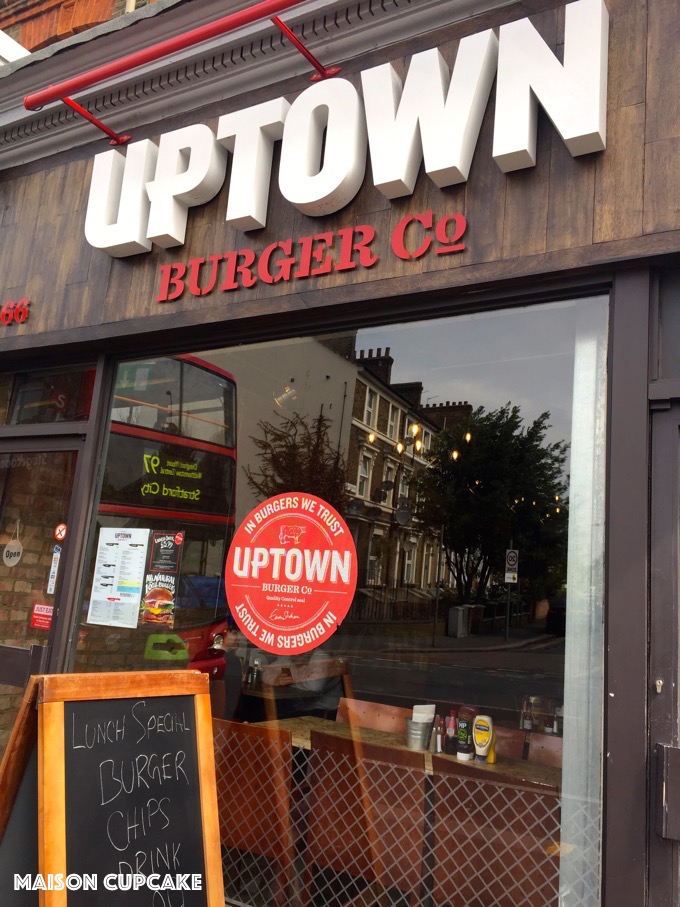 Uptown Burger Restaurant Leyton East London