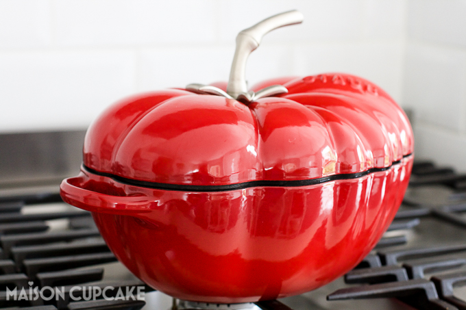 Staub tomato cocotte
