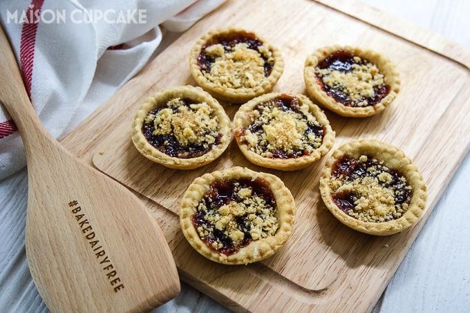 Bake Dairy Free Jam Tarts Vegan Pastry