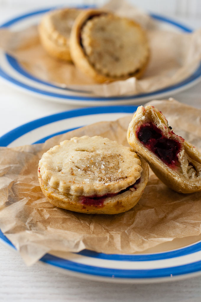 Bramley Apple Hand Pies with Beetroot (Vegan)