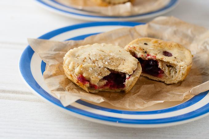 Bramley Apple Hand Pies with Beetroot (Vegan)