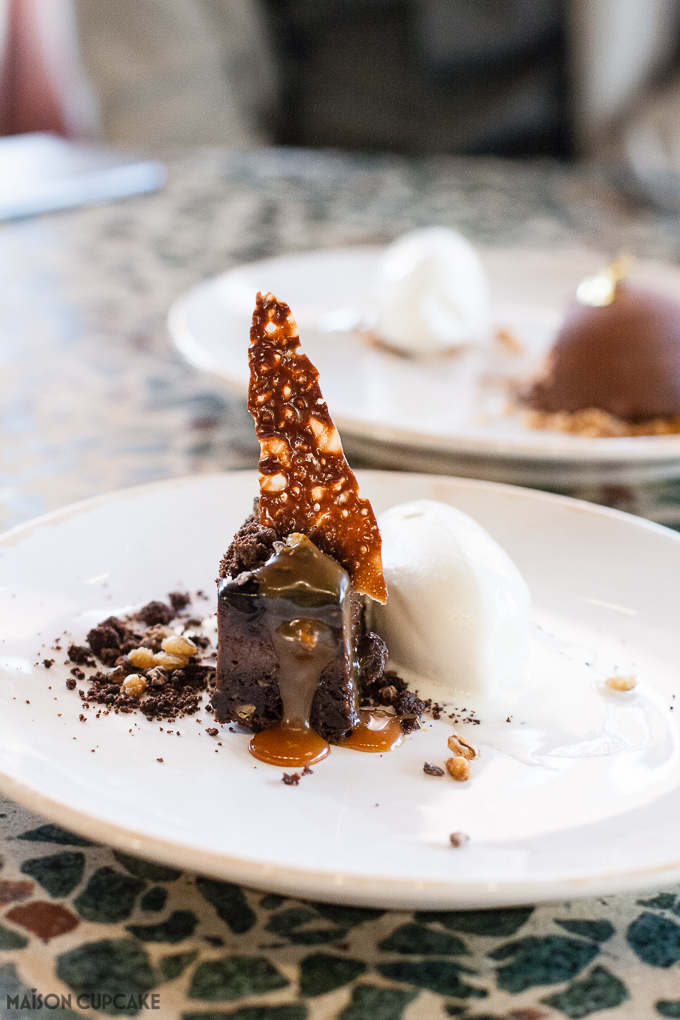 Jamie Oliver Barbecoa Brownie Dessert