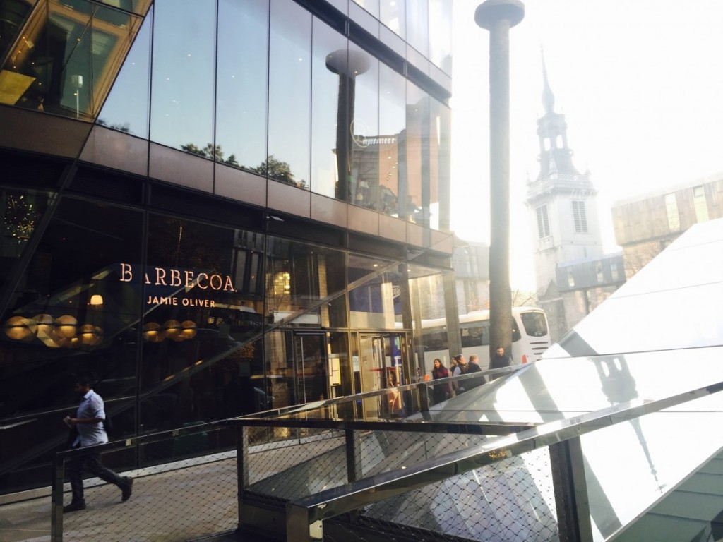 Exterior Barbecoa Restaurant City of London