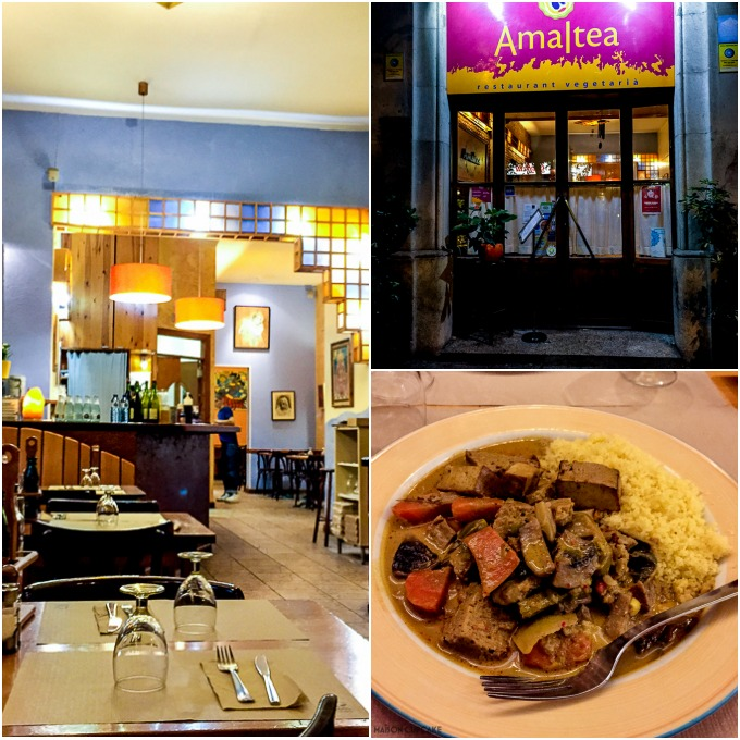 Amaltea Vegetarian Restaurant Barcelona