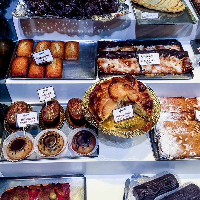 Barcelona Bakery Window 2