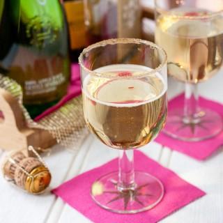 Prosecco Cocktail with Appletiser & Brandy (Appletiser)