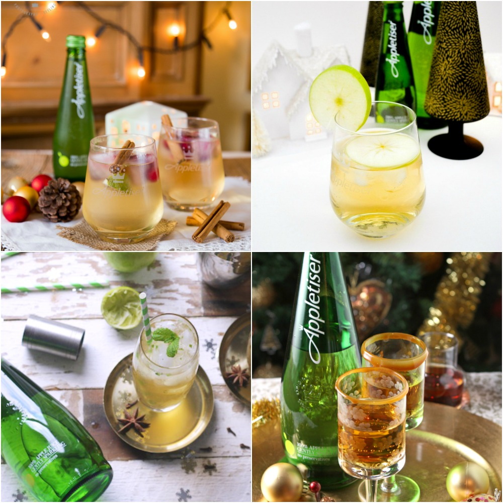 Appletiser Christmas Cocktails