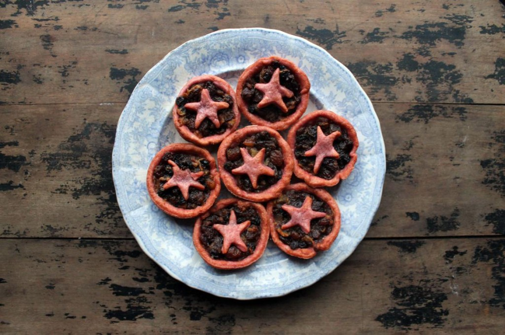 Beetroot Pastry Mince Pies