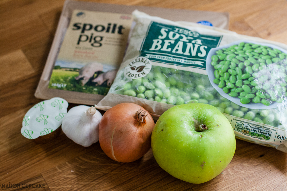 Ingredients for Apple Soup