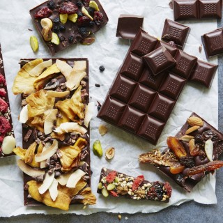 How to make homemade chocolate bars