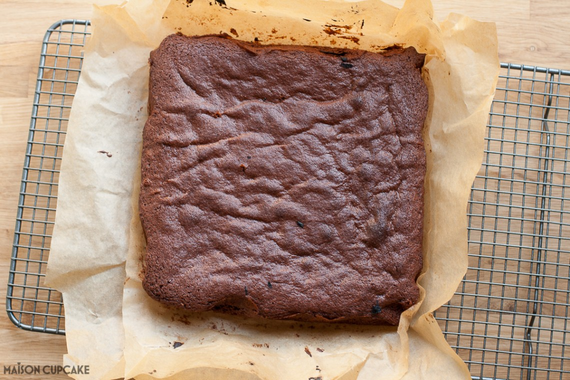 Chocolate Bunny Bum Cake Step by Step pics - baked chocolate sponge cake