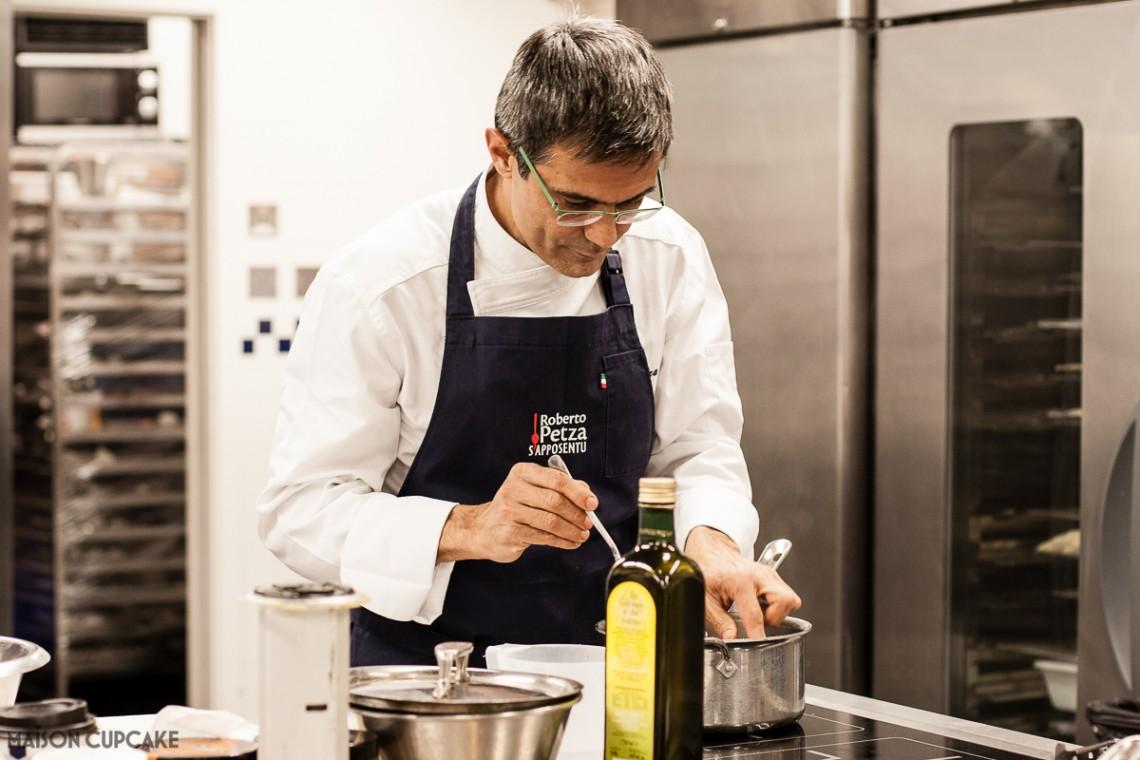Roberto Petza Sardinian Michelin Starred Chef of Sapposentu