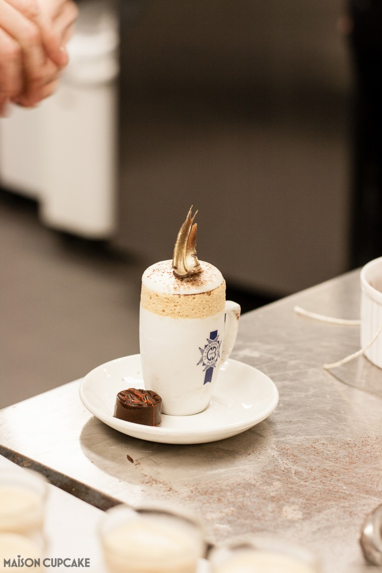 Iced Coffee Souffles Cordon Bleu Recipe