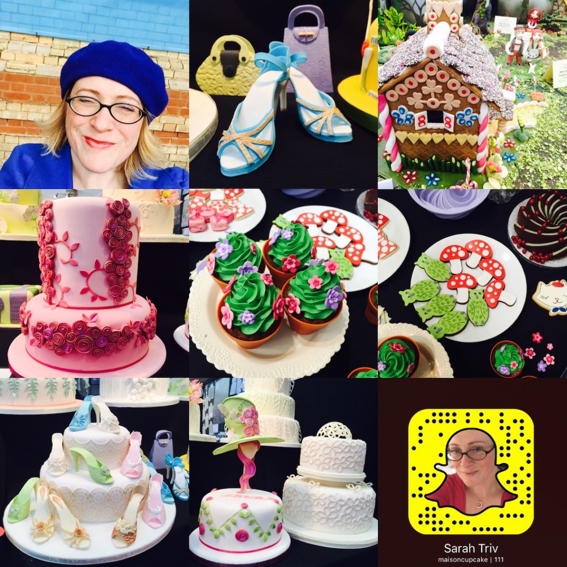 Cake International highlights on Snapchat with Maison Cupcake