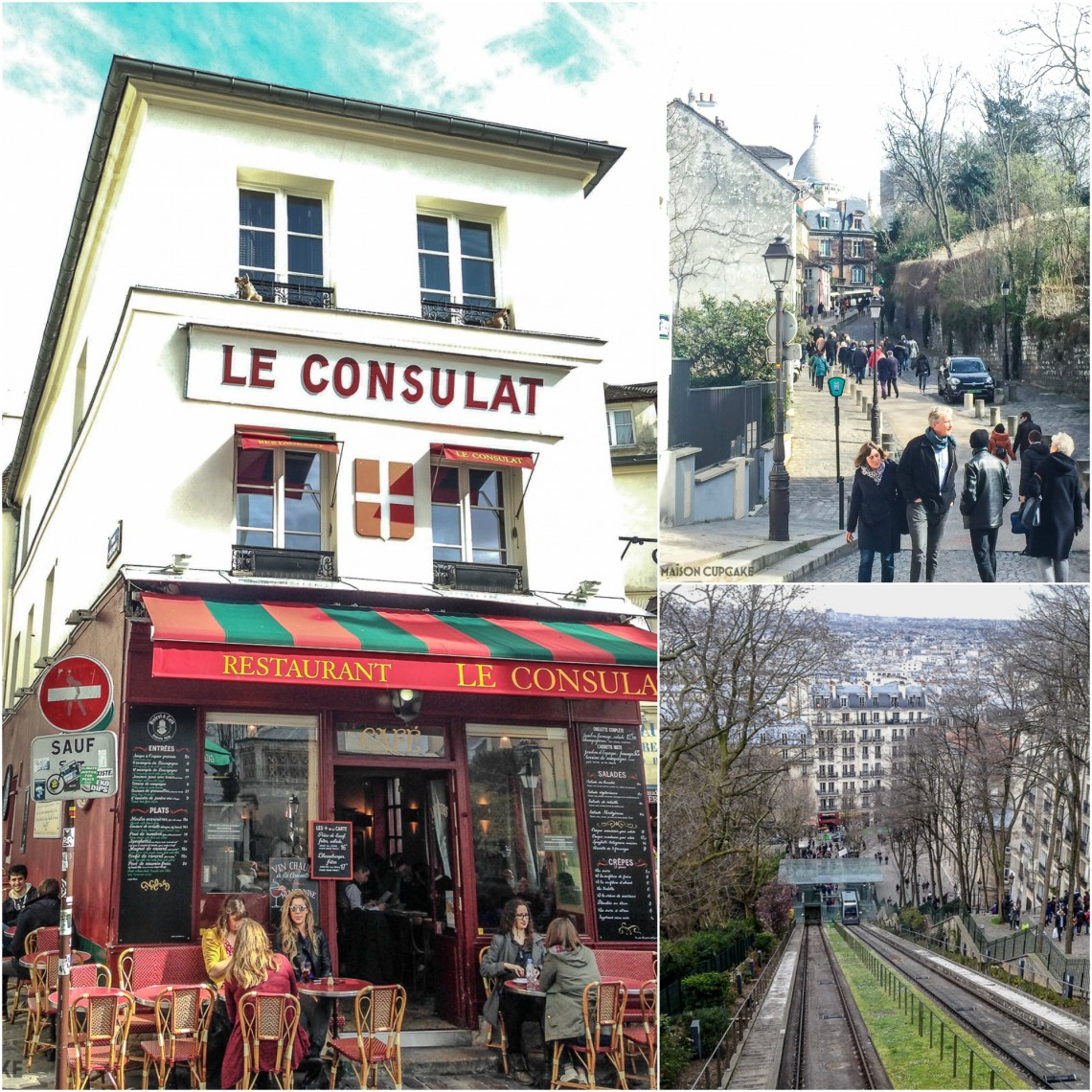 Walking through Montmartre Paris