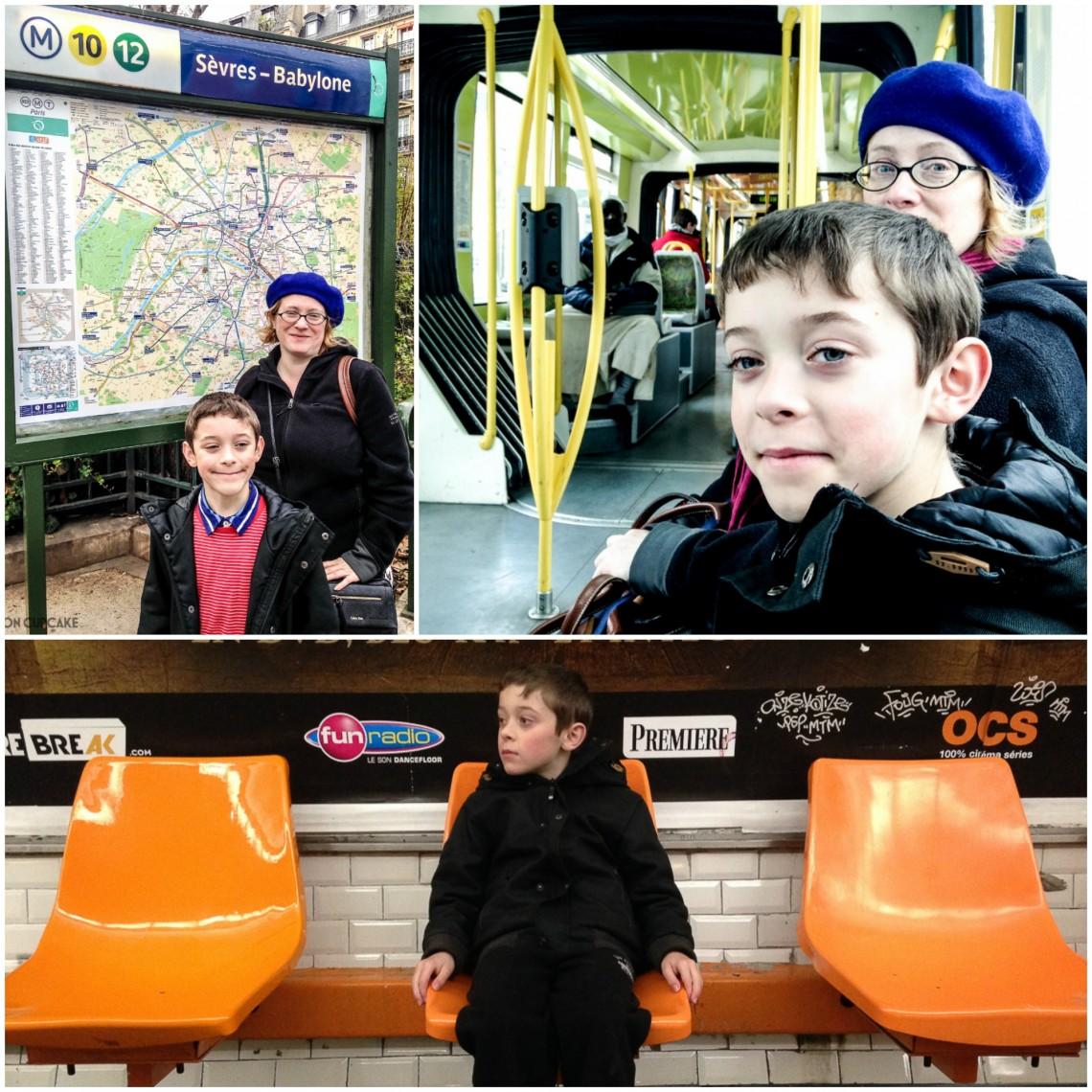 Paris Metro and trams