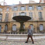 Fountain square in Aix en Provence