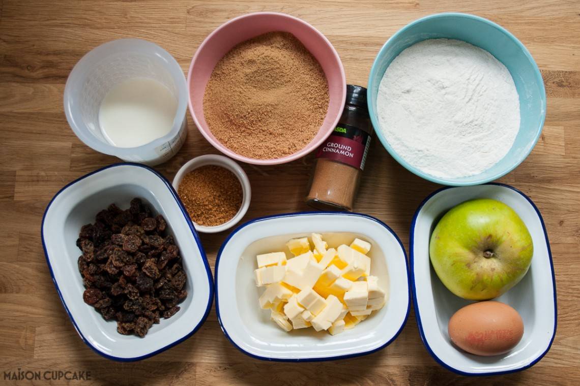 Dorset Apple Cake - ingredients