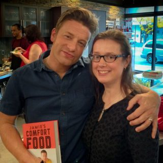 Jamie Oliver and Mardi Michels