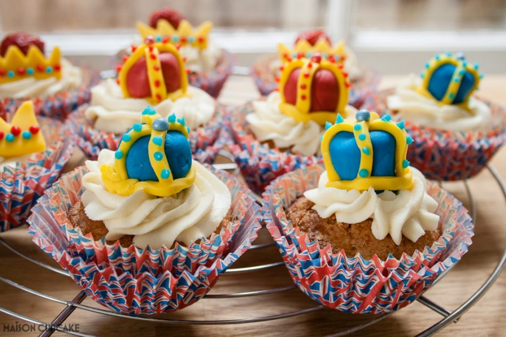 Queens Birthday Cupcakes Dr Oetker