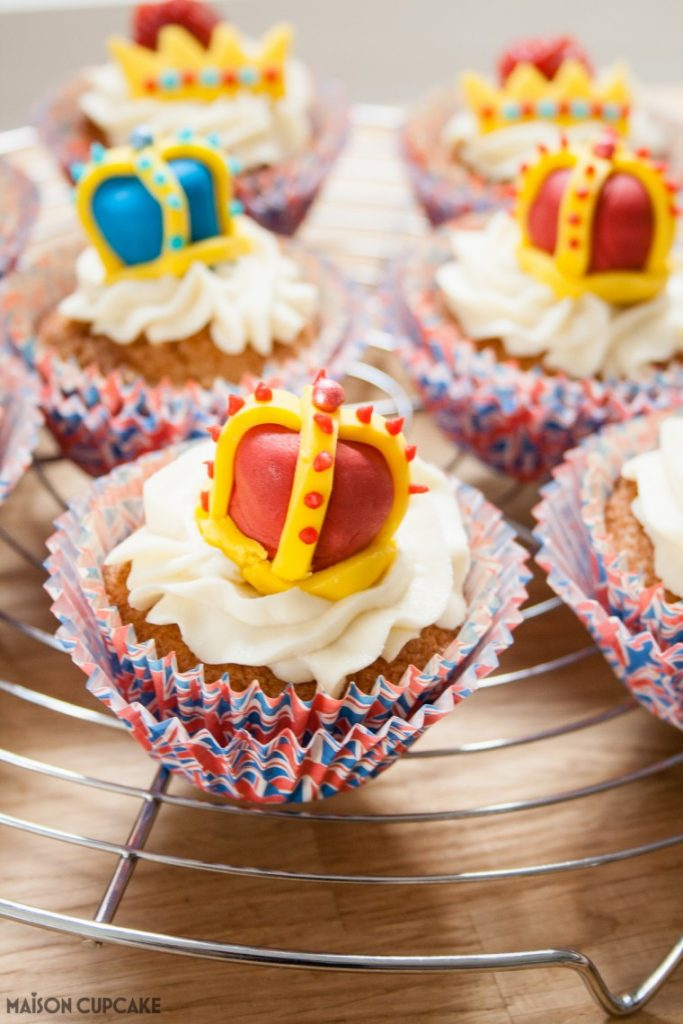 Queen's Birthday Cupcakes