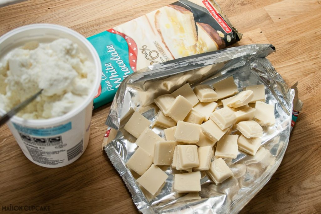 Dr Oetker White chocolate and quark
