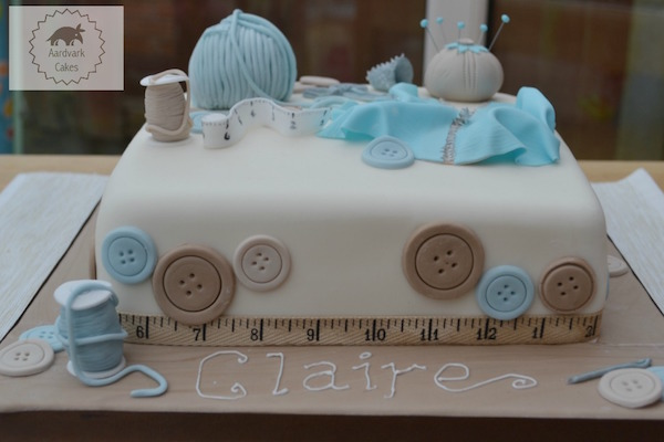 Sewing Lover's Cake