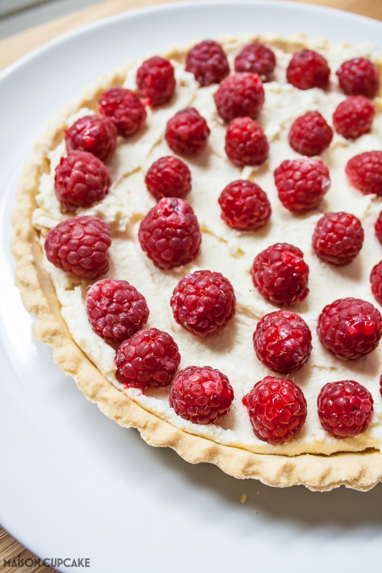 Cheats Raspberry Tart-2