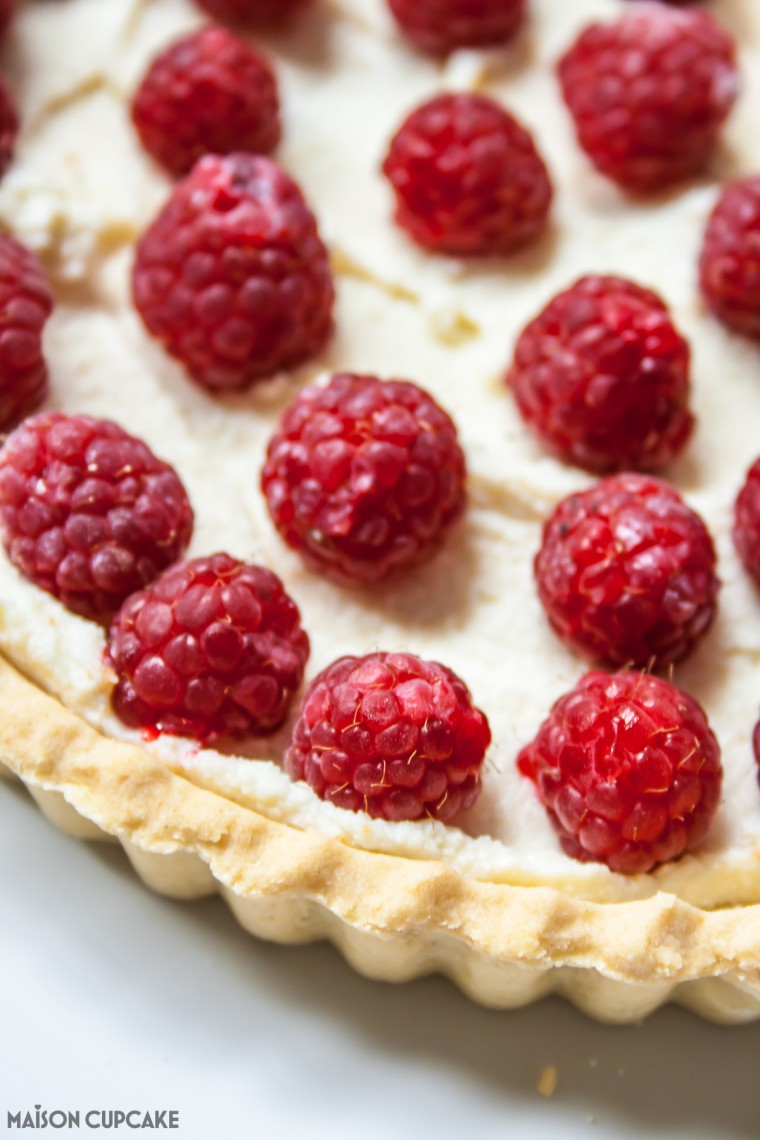 Cheats Raspberry Tart-3