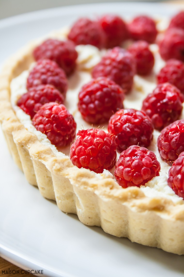 Cheats Raspberry Tart-4