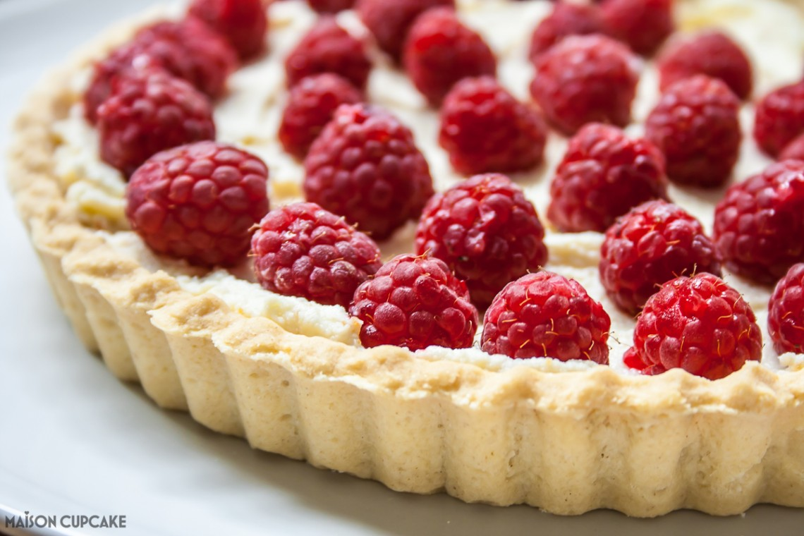 Cheats Raspberry Tart-5
