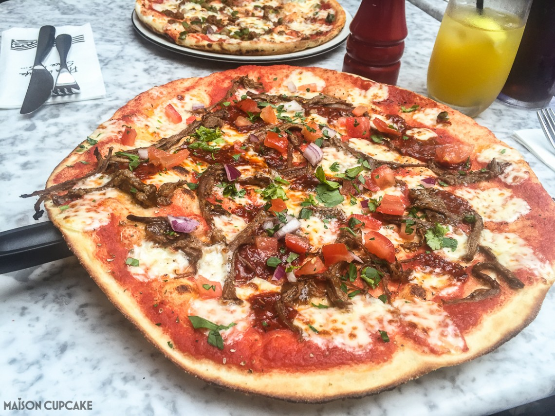 Pizza Express Menu options for summer - Barbecoa Romana
