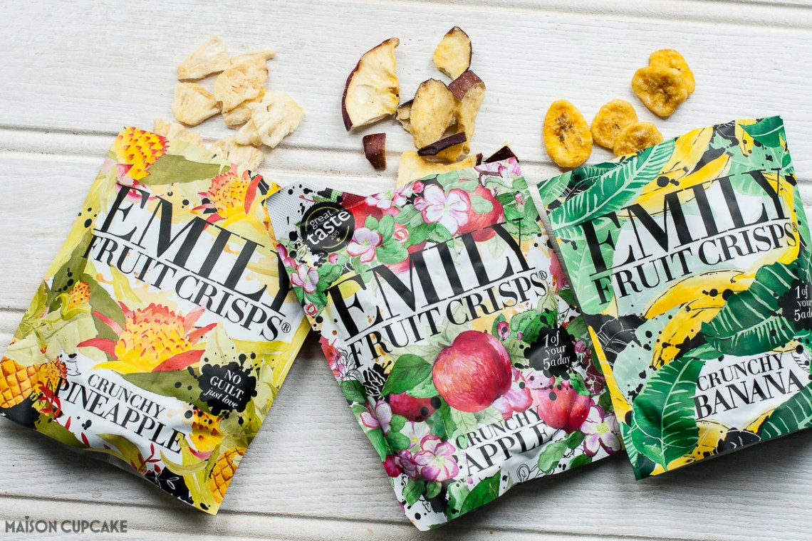 Emilys Fruit Crisps Packaging
