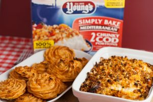 Sun Dried Tomato Duchesse Potatoes (with Young's Simply Bake)