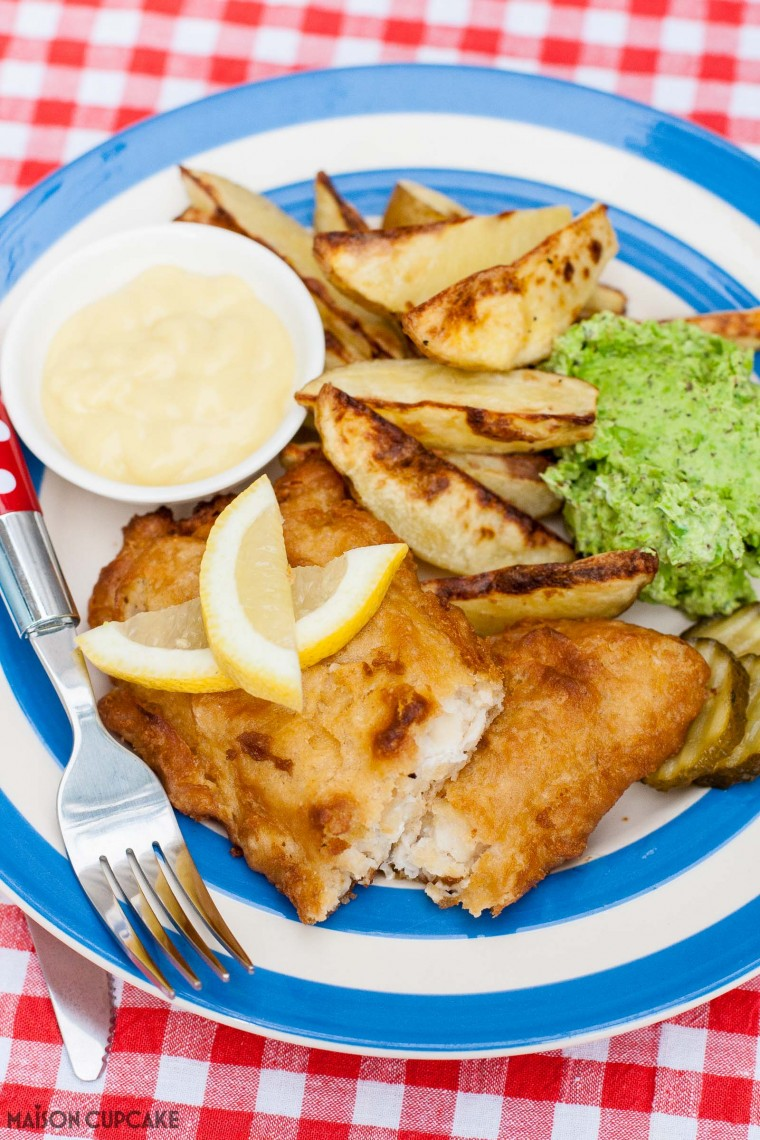 How to Make Lower Calorie Chip Shop Fish Supper At Home