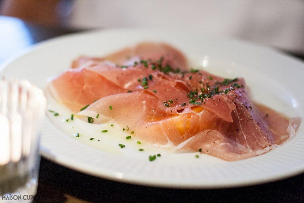 Côte Brasserie - London Barbican - Charentais Melon with Savoie Ham
