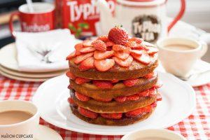 Wimbledon Strawberry Sandwich Cake