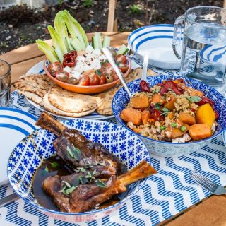 Easy summer menu for six with quick and quality foods from Iceland