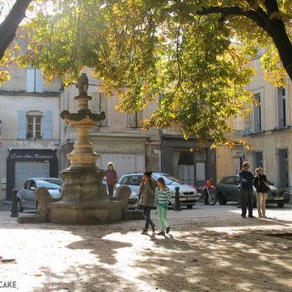 St Remy de Provence is packed with pretty squares and streets like this